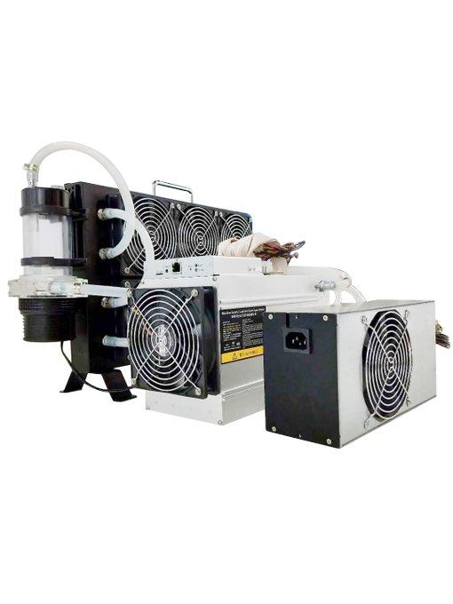 При этом майнеры также смогут использовать водяную систему охлаждения Hydro-Hex для отопления помещений.